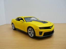 camaro zl1 for sale ebay chevrolet camaro zl1 jaune noir 1 24 ebay