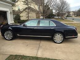bentley blacked out my wrapped 2014 bentley mulsanne 1050x591 rebrn com