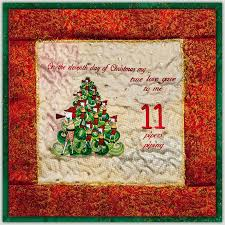 Christmas Rug 12 Days Of Christmas Combo Set