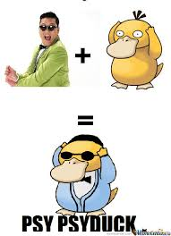 Psyduck Meme - psy psyduck by iamalishamim meme center