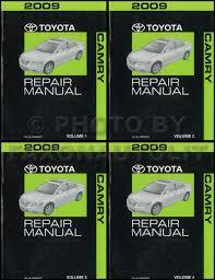 1993 toyota camry repair manual 2009 toyota camry hybrid repair shop manual original 4 volume set