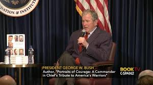 former president george w bush discusses portraits courage mar 1 2017