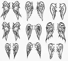 women tattoos design angel wing tattoos for women another women