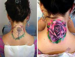 best 25 neck tattoo cover up ideas on pinterest good cover up