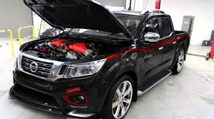 nissan patrol nismo engine the nissan navara r is an aftermarket gt r pickup youtube
