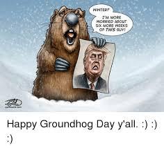 Groundhog Meme - cartooninkcom winter i m more worried about six more weeks of