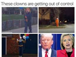 Recent Funny Memes - clown sightings memes about spotting clowns pictures