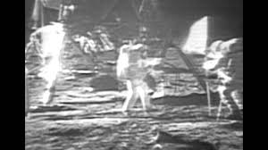 Flag On The Moon Conspiracy Lost Footage Of The Moon Landing From Nasa Raising The Flag