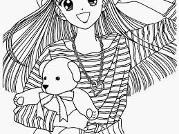 japanese anime coloring pages coloring page for kids