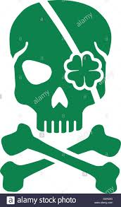 green st patrick u0027s day skull stock vector art u0026 illustration