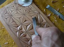 41 best geometric wood carving images on wood