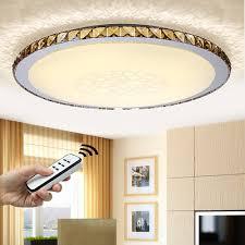 Wohnzimmer Deckenlampe Design Natsen 50w Led Kristall Deckenlampe Wohnzimmer Deckenleuchte