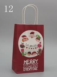 christmas paper bags aliexpress buy 2016 new arrival merry christmas paper bags