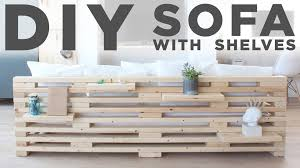 ekebol sofa for sale diy sofa with shelves a 3 tool project youtube