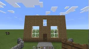 Decorate A House Game by How To Decorate A Blank Wall Of Oak Wood Planks In Minecraft