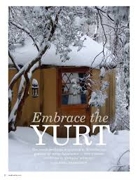 Living In A Yurt by Embrace The Yurt U2013 Marissa Hermanson