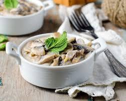 plat facile a cuisiner et rapide recette blanquette de poulet aux chignons facile rapide