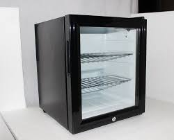 husky tropical glass door mini bar fridge 50 litre sc50 in glass