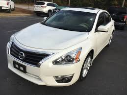 nissan white car used nissan altima sl pearl white tan leather u2013 nissan247 com