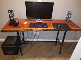 Diy Desk Pipe by Black Pipe Computer Desk Table Frame Table Legs