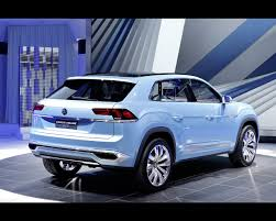 volkswagen crossblue coupe plug in hybrid cross coupe gte concept 2015