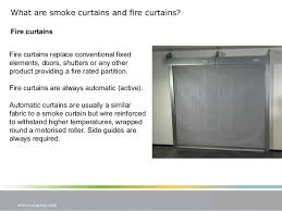 Shutters Vs Curtains Cpd Presentation Smoke Curtains And Fire Curtains