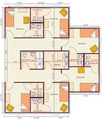 Sample House Floor Plans Bunk House Half 18x22 U003d396 I Love This Plan I Think The Building