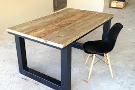 bureau industriel metal bois bureau style industriel en metal et bois locale ob cleanemailsfor me