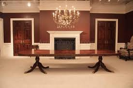 12 Foot Dining Room Tables Hand Made Farms With Extensions And Brown Cherry Top By Foot