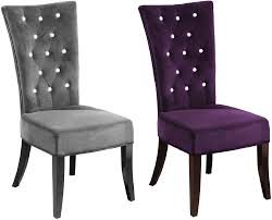 small bedroom chairs upholstered armchair chair elegant french details about new 2 x charcoal velvet grey radiance bedroom dining charcoal bedroom chair