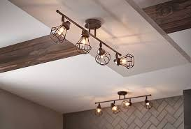 Kichler Track Lighting Bayley 4 Light Track Light In Olde Bronze