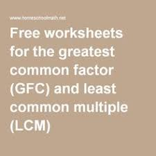 greatest common factor worksheet customizable and printable