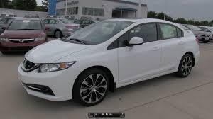 2013 honda civic si sedan start up exhaust and in depth review
