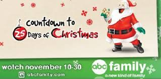 burford designs abc family countdown to 25 days of