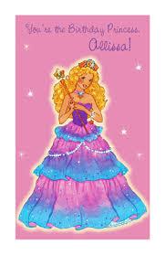 you u0027re the birthday princess greeting card happy birthday