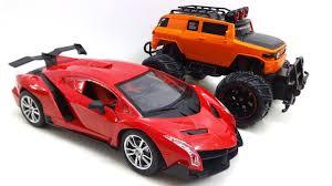 Rc Toy Car For Kids Lamborghini Veneno Lr40 Remote Control Toy