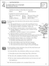best ideas of capitalization worksheets grade 8 in free