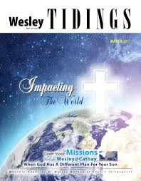 wesley tidings newsletter march 2017 by wesley methodist church