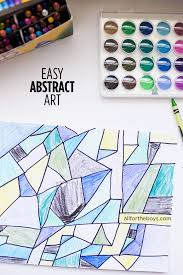 easy abstract art easy abstract art kid activities and craft