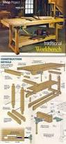 Construction Plans For A Wooden Bench by Best 25 Workbenches Ideas On Pinterest Woodworking Workshop
