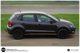 volkswagen polo 2016 black volkswagen polo full car wrap ide autoworks