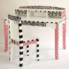 Black Desk And Chair Pink Paris Pink And Black Paris Themed Desk And Chair C U0027est