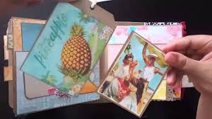 hawaiian photo album hawaiian mini album holds 100 photos memory book vintage