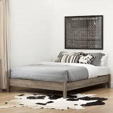 Storage Platform Bed Bedroom Full Platform Bed With Underbed Storage By South Shore