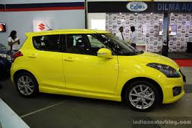 suzuki swift sport launched in columbia inr 17 14 lakhs car