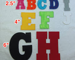 iron on letters etsy