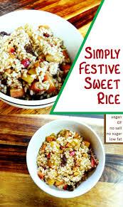 simply festive sweet rice carob cherub