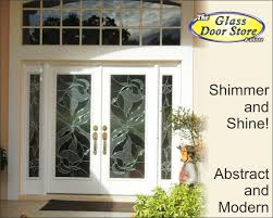 exterior glass door inserts modern and contemporary front doors archives the glass door store