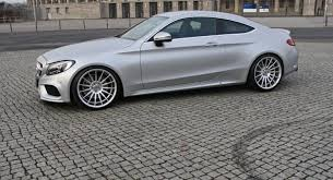 mercedes c class coupe tuning mercedes c coupe exesor iii by moshammer kicks automotorblog