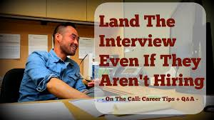 Hired Immediately Get The Job Interview Even If The Company Isn U0027t Hiring Creative
